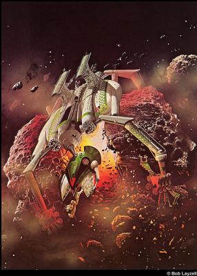 Боб Лаузелл. Космический корабль 21