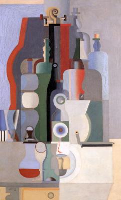 Le Corbusier. Vertical still life