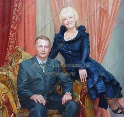 Анна Валериевна Горбунова. Семейный портрет
