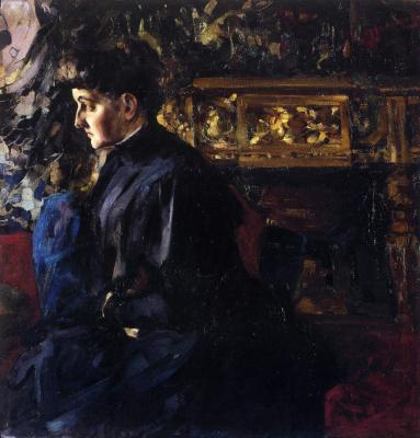 Nikolay Feshin. Female portrait