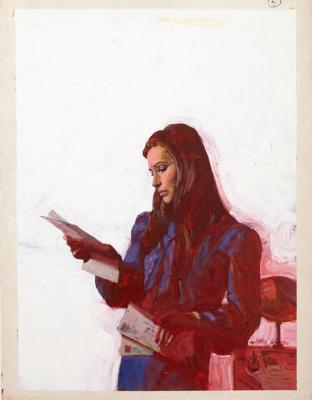 Michael Johnson. Woman Reading Letters