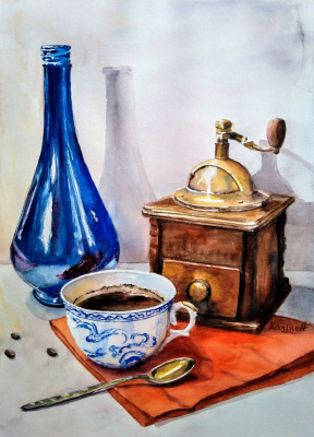 Karine Andriasyan. Wake Up and Smell the Coffee!