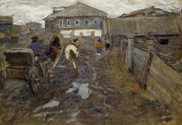 Алексей Степанович Степанов. Провинция