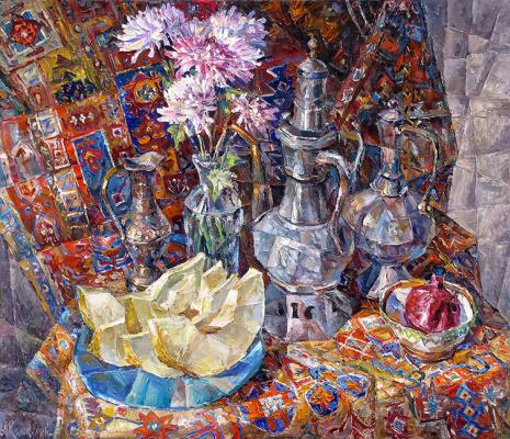 Антон Борисович Колоколов. Восточный натюрморт.  2006