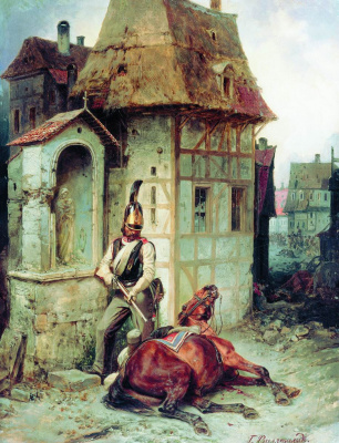 "Bogdan Pavlovich Willewalde. ""Today you, and tomorrow I!"". 1886"