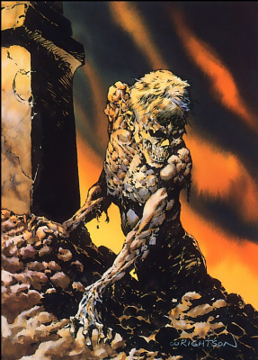 Bernie Wrightson. Fantastic monsters 30