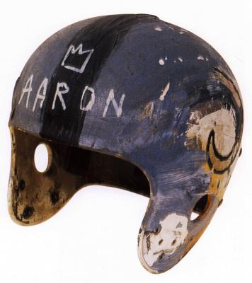 Jean-Michel Basquiat. Helmet II