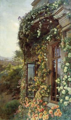 Joseph Evstafievich Krachkovsky. Landscape. Tyumen Regional Museum of Fine Arts.