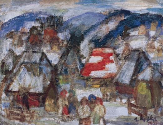 Андрей Андреевич Коцка. Зима в селе Тихий