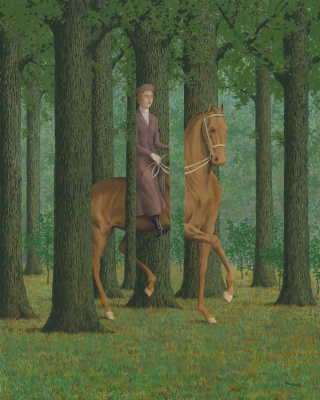 René Magritte. Obstacle void