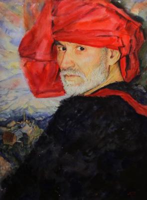 Oktay Alirzaevich Alirzayev. Portrait by artist Arsen Kardashov.
