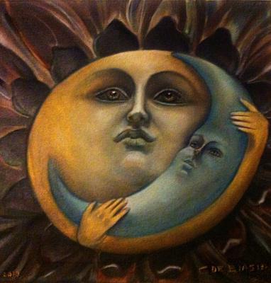 Cristina de biasio. MOON AND SUN LOVE THEM