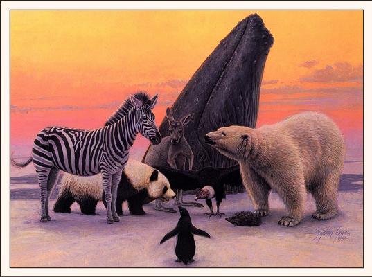 Стивен Лиман. Арктическая делегация