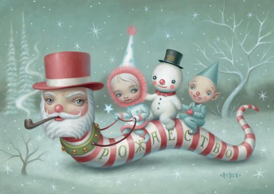 Mark Raiden. The Worm-Santa