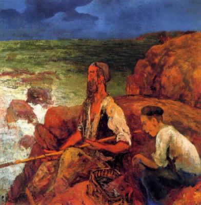 Эваристо Валле. Рыбалка