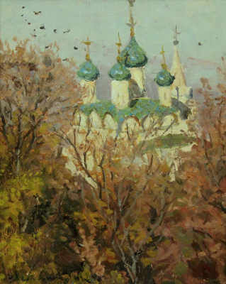 Victor Fyodorovich Letyanin (30.11.1921 - 04.07.2009). Cathedral caves monastery