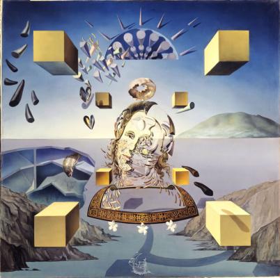 Salvador Dali. Galatea at the moment of creation