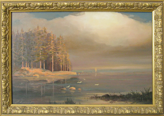 Евгений Геннадиевич Лактионов. North of Petersburg