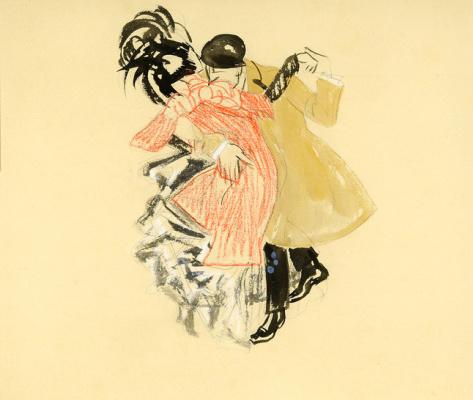 Ян Слёйтерс. Танцующая пара