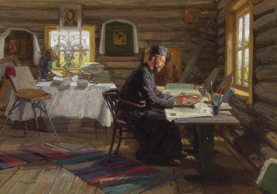 Фёдор Борисович Фёдоров. Иконописец Илья