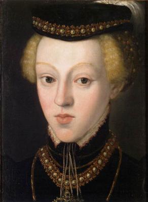 Giuseppe Arcimboldo. Archduchess Johanna, Grand Duchess of Tuscany