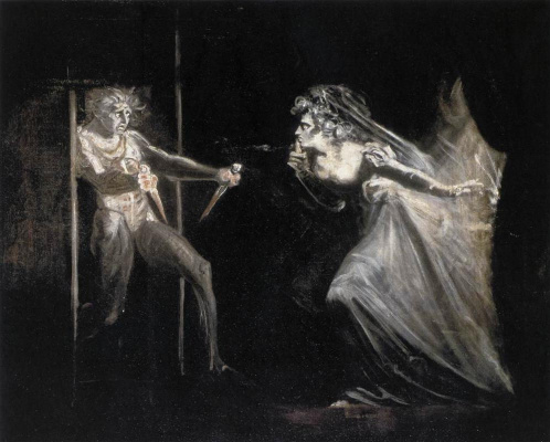 Johann Heinrich Fuessli. Dagger