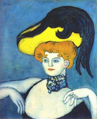 Пабло Пикассо. Куртизанка в колье