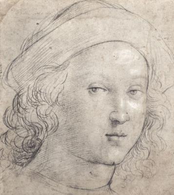 Raphael Santi. Portrait of a young man (self-Portrait)