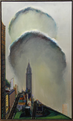 Wayne Thibaut. Clouds in the city