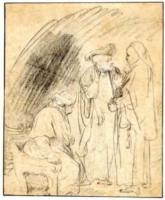 Три жителя Востока в беседе