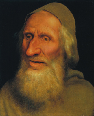 Quentin Masseys. Portrait of an elderly man