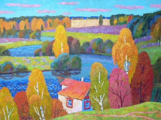 Igor Zagrievich Berdyshev. Autumn gave