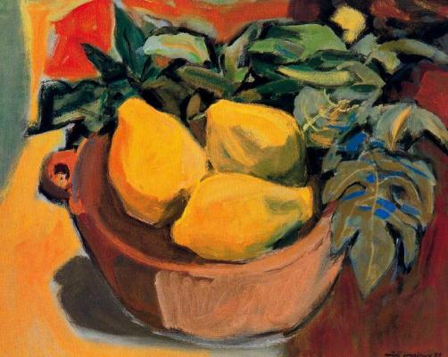 Миро Маиноу. Ваза с фруктами
