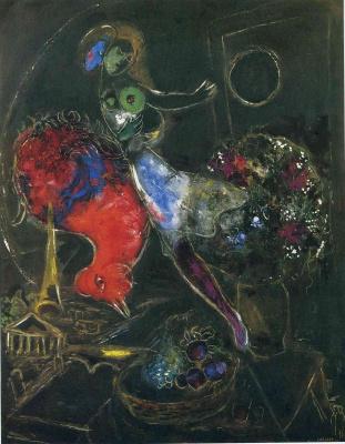 Marc Chagall. Night