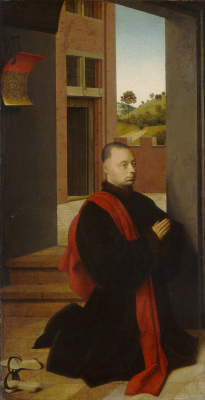 Petrus Christus. Portrait of a man