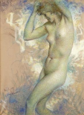 Lucien Levi-Durme. Oriental dancer.