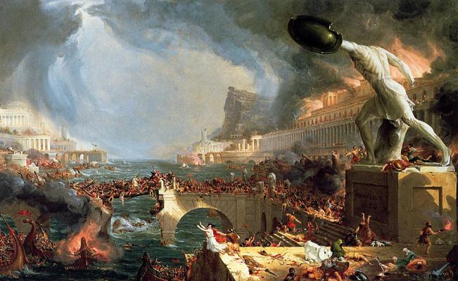 Томас Коул. Курс империи уничтожении