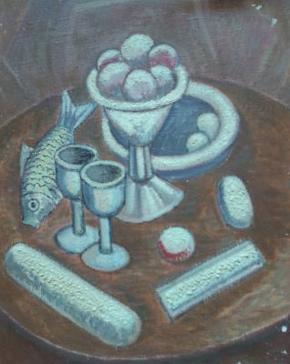 Вячеслав Коренев. Still life with a vase