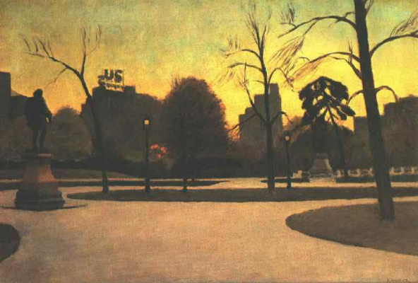 Edward Hopper. Shakespeare at sunset