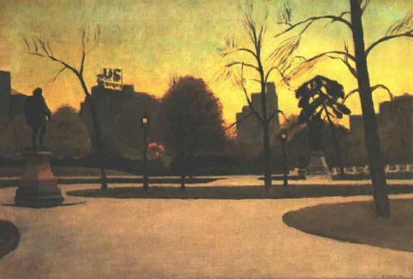 Edward Hopper. Shakespeare at sunset
