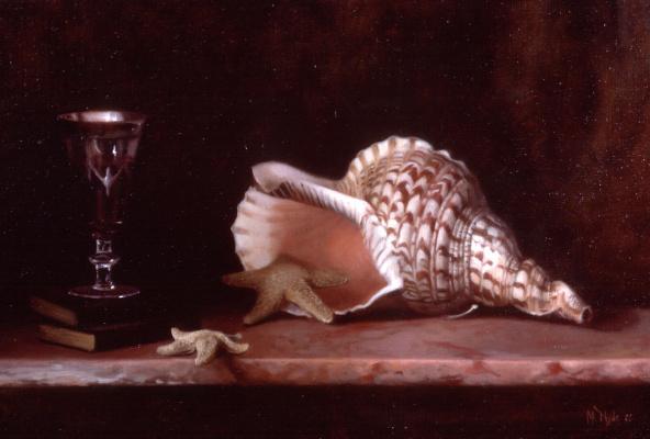 Морин Хайд. Натюрморт с раковиной и морской звездой