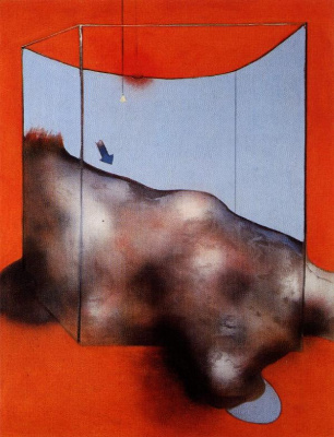 Francis Bacon. Sand dunes