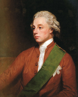 George Romney. Portrait of Frederick the Fifth Earl of Carlisle