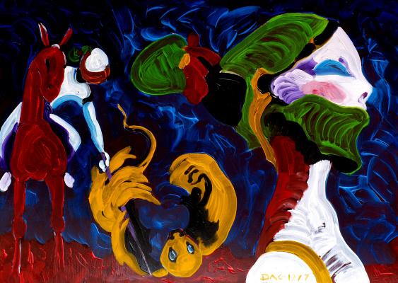Alexander Ocher Kandinsky-DAE. Kill the Beast! (Killing the Beast).