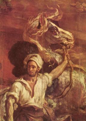 Théodore Géricault. The sign for the blacksmith