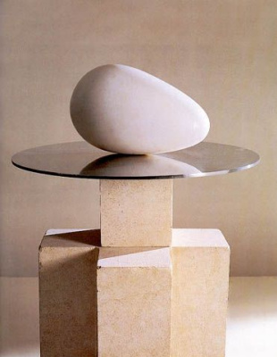 Constantine Brancusi. The beginning of the world.
