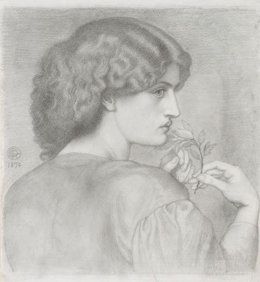 Dante Gabriel Rossetti. The leaves of roses
