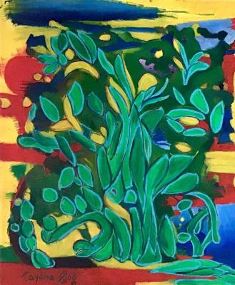 Tatiana Gogoloshvili. Mayan Riviera. Wish Tree.