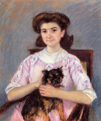 Mary Cassatt. Portrait Of Marie-Louise Durand-Ruel