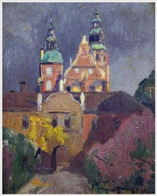 Einar Wegener (Lily Elbe). Frederiksborg Castle